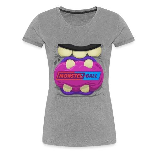 Monster Chew Logo - Women's Premium T-Shirt
