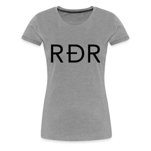 RDR Black - T-shirt Premium Femme