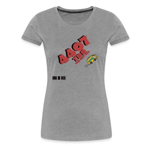 4407 png - Frauen Premium T-Shirt