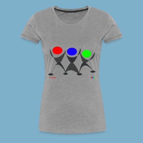 Fundago Logo - Frauen Premium T-Shirt