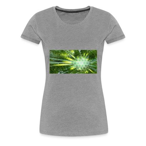 Flower of Life - Frauen Premium T-Shirt