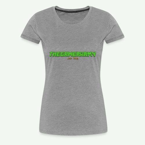 TheGamerArmy Join Idag - Dame premium T-shirt