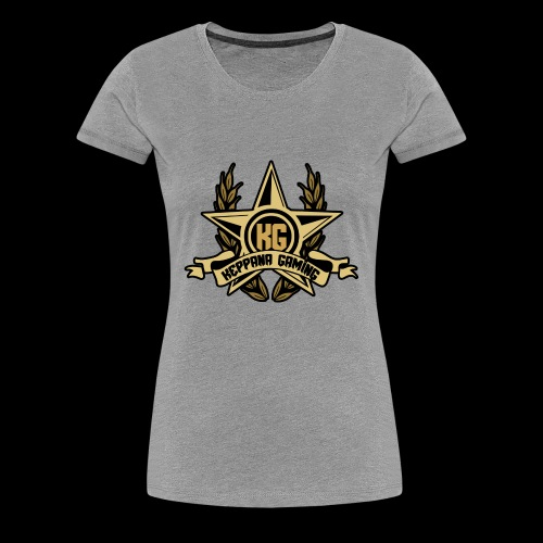 Keppana Gaming - Naisten premium t-paita