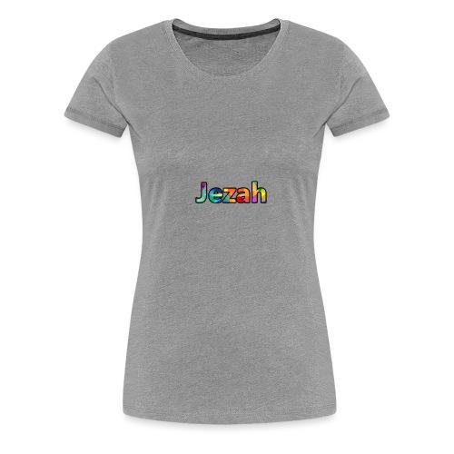 jezah merch text - Women's Premium T-Shirt