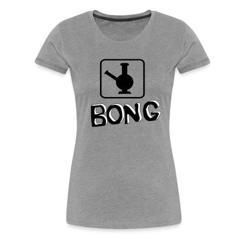 Bong Vase - Frauen Premium T-Shirt