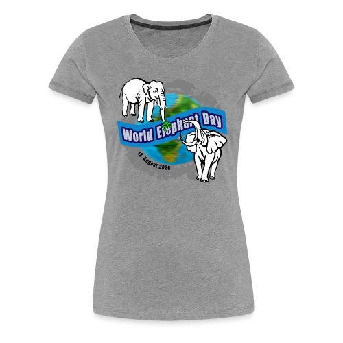 World Elephant Day 2020 - Frauen Premium T-Shirt