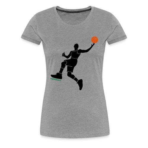 slamdunk_ball - Maglietta Premium da donna