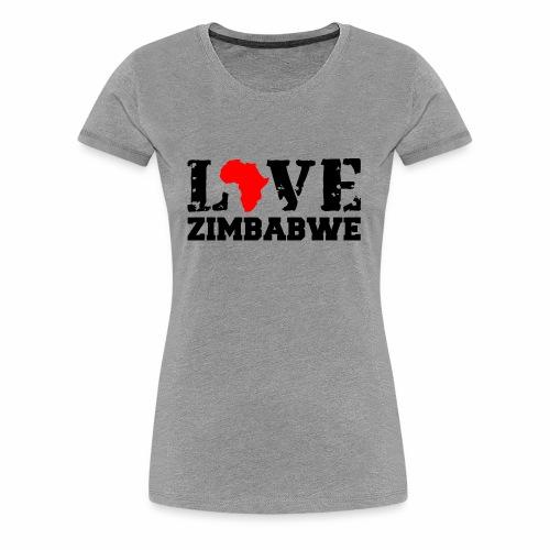 love zimbabwe - Women's Premium T-Shirt