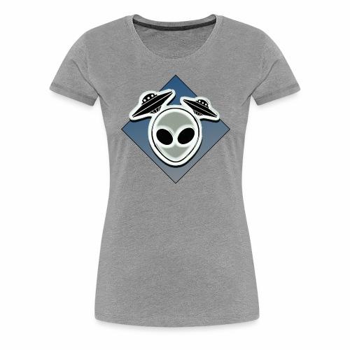Icone Ufo 3 - T-shirt Premium Femme