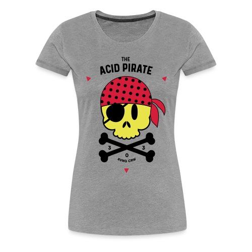 The Acid Pirate II - Women's Premium T-Shirt
