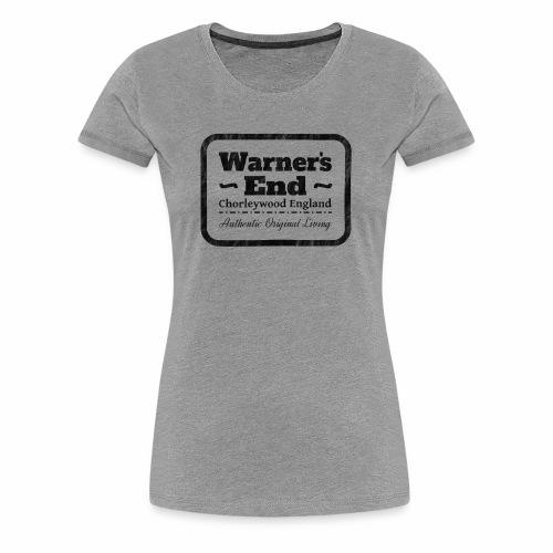 Warners End, England. Authentic Original Living - Women's Premium T-Shirt