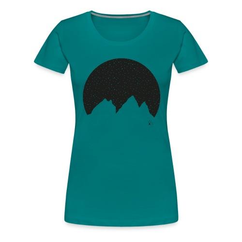 Aiguilles d arves WLAE png - Women's Premium T-Shirt