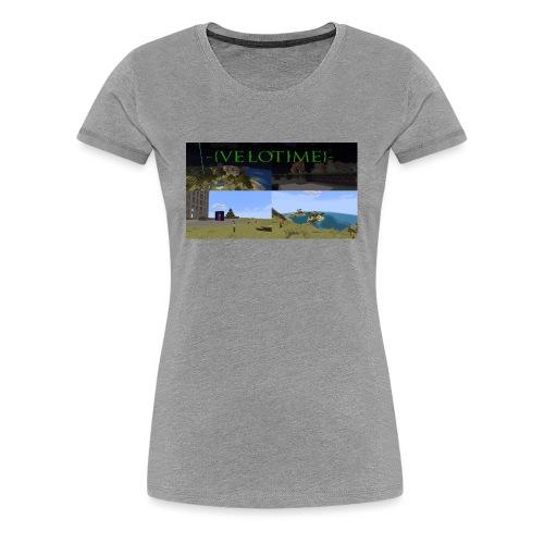 Velotime! - Premium-T-shirt dam