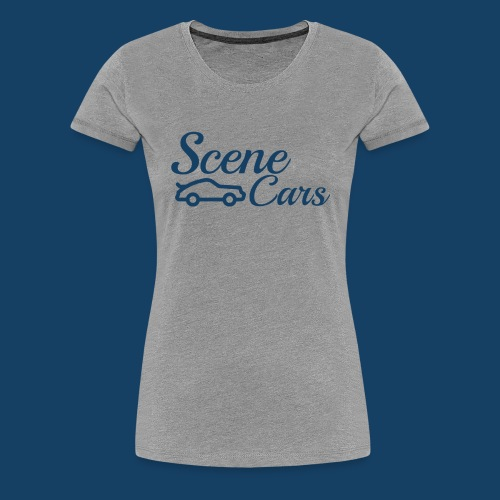 Scene Cars Large Logo - Women's Premium T-Shirt