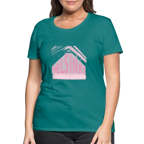 Helsinki light pink - Women's Premium T-Shirt