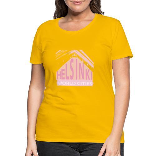 Helsinki light pink - Women's Premium T-Shirt