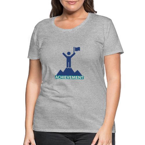 Typo Achivement by CloudMonde - Women's Premium T-Shirt