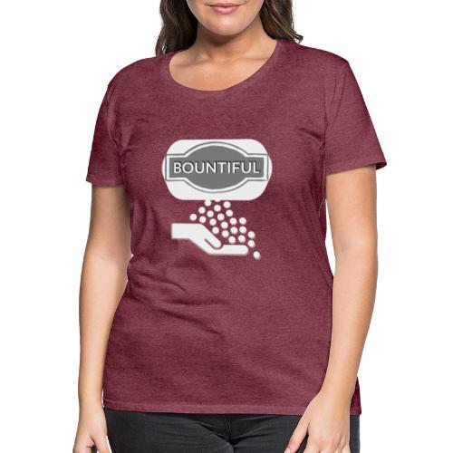 Bontiul gray white - Women's Premium T-Shirt