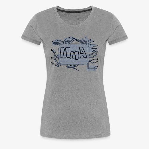 MMA Logo Digitalizasjon! - Premium T-skjorte for kvinner