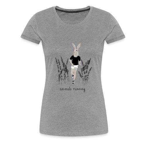 Lièvre running - T-shirt Premium Femme