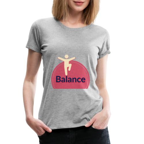 Balance red - Women's Premium T-Shirt
