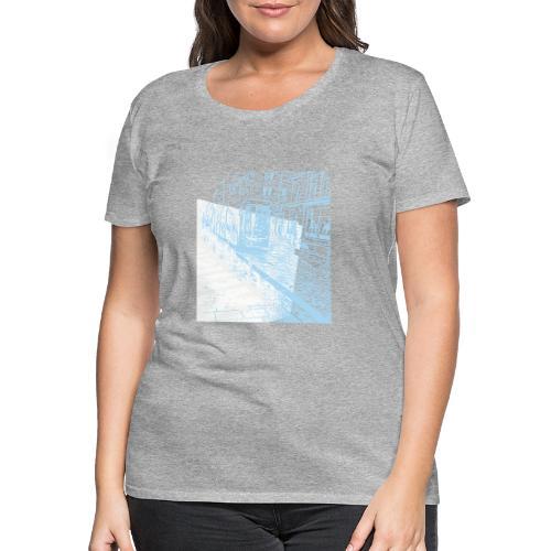 Helsinki tram typo - Women's Premium T-Shirt