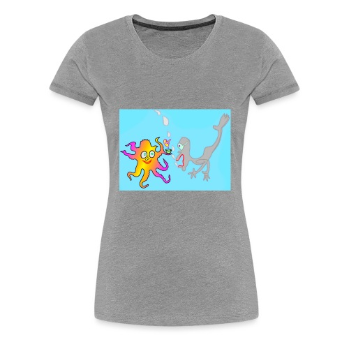 Unter Wasser - Frauen Premium T-Shirt