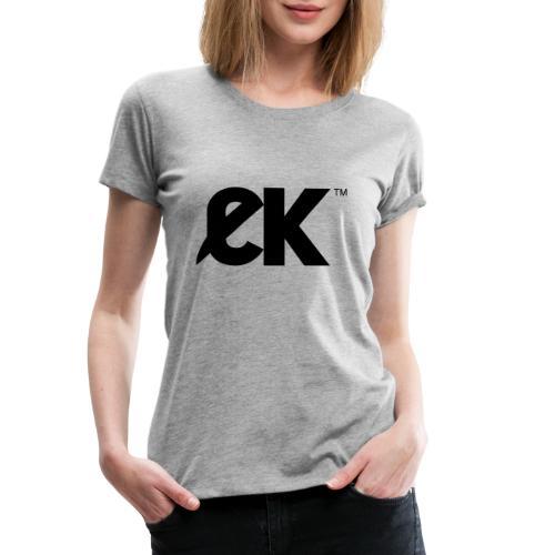 EK logo Black Central - T-shirt Premium Femme