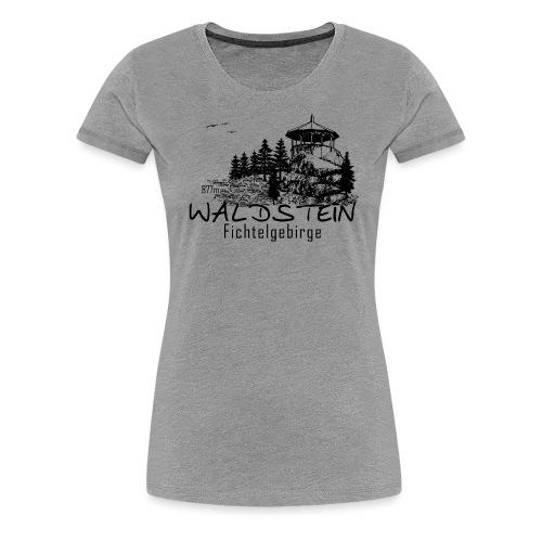 Waldstein im Fichtelgebirge - Frauen Premium T-Shirt