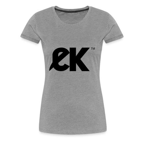 EK logo Black Centred - Vrouwen Premium T-shirt