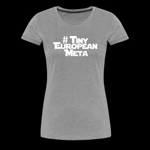 TEM White - Women's Premium T-Shirt
