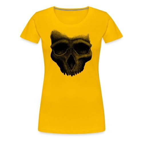 Simple Skull - T-shirt Premium Femme
