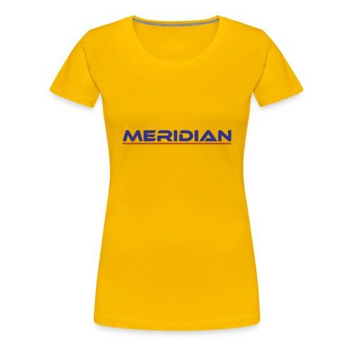 Meridian - Maglietta Premium da donna