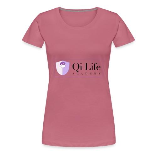 Qi Life Academy Promo Gear - Women's Premium T-Shirt