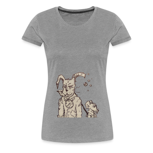TimeRabbit - Frauen Premium T-Shirt