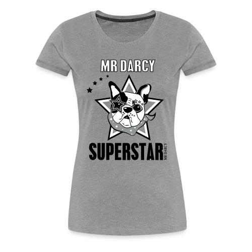 MR DARCY SUPERSTAR - Frauen Premium T-Shirt