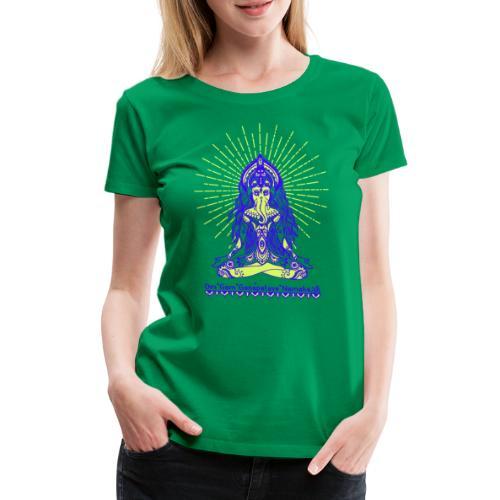 Yogafashion Hippie Ganesha dein Glücksgott - Frauen Premium T-Shirt