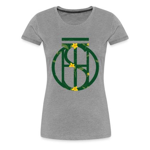 Flowerkleinhokkie gif - Vrouwen Premium T-shirt