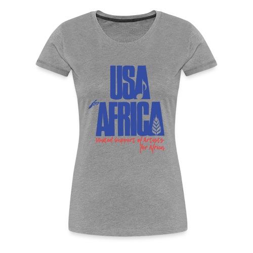 USA 4 africa - T-shirt Premium Femme