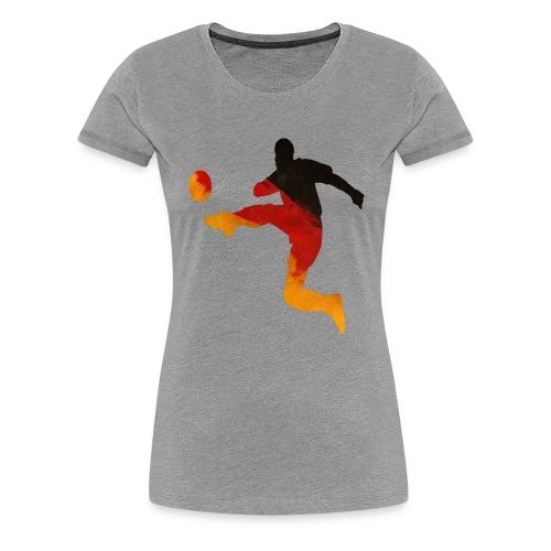 Fußball - Frauen Premium T-Shirt