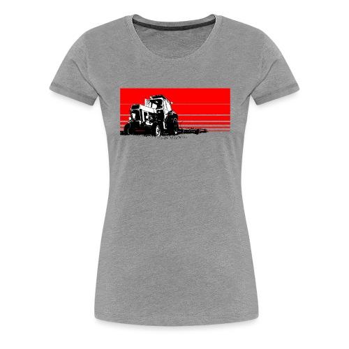 Sunset tractor - Maglietta Premium da donna
