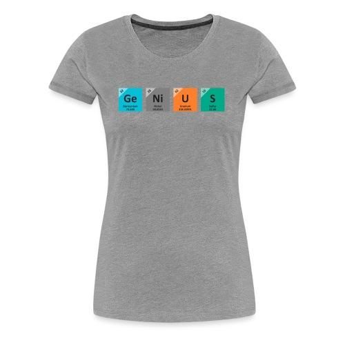 genius - Premium T-skjorte for kvinner
