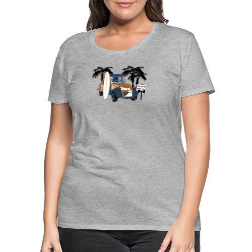2cv Delatelier Vfoncée - T-shirt Premium Femme