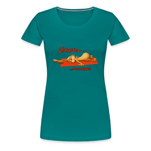 Time for Shavasana - Frauen Premium T-Shirt