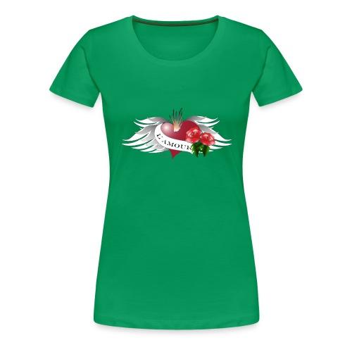 L' Amour - Die Liebe - Frauen Premium T-Shirt