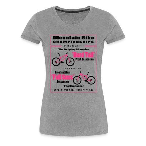ht vs fs outlines - Women's Premium T-Shirt