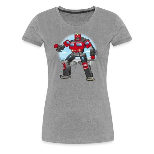 Lokomotiv transformer - Dame premium T-shirt
