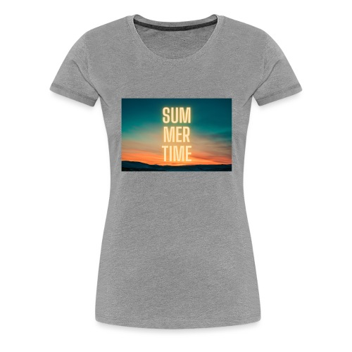 Summer Time - Frauen Premium T-Shirt