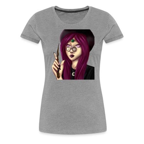 Sorcière violette - T-shirt Premium Femme