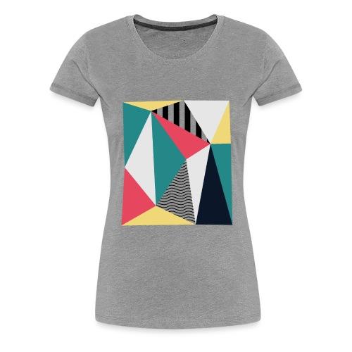 Triangulos - Camiseta premium mujer